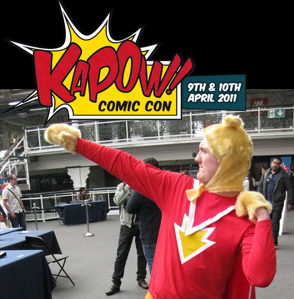 Super-Ted på Kapow Comic Con