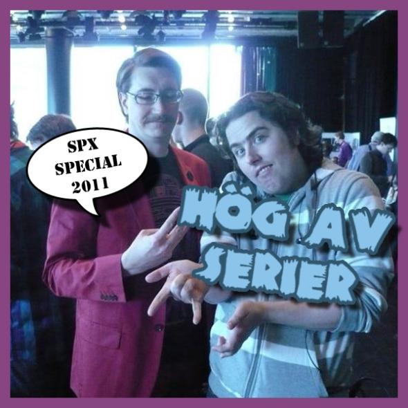 Illustration av Hög av serier: SPX Special 2011