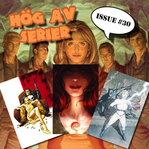 Illustration av Hög av Serier - Buffy the Powergirl