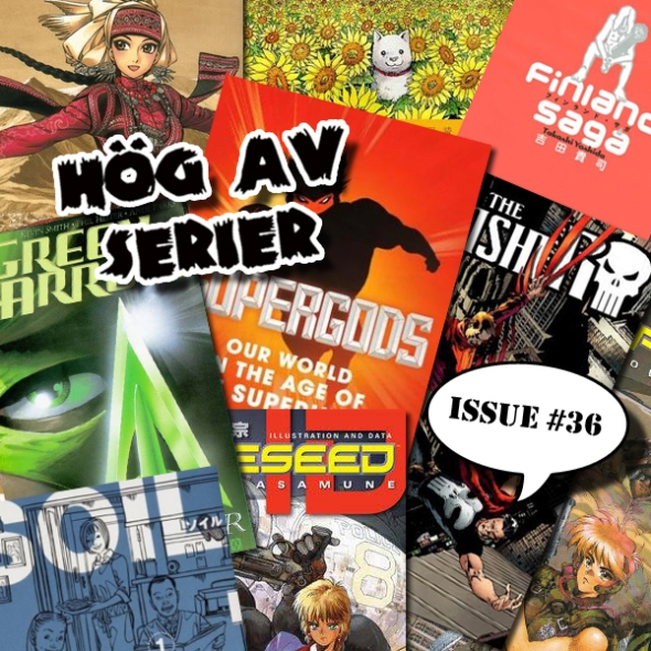 Illustration av Hög av serier - Många Manga blir det