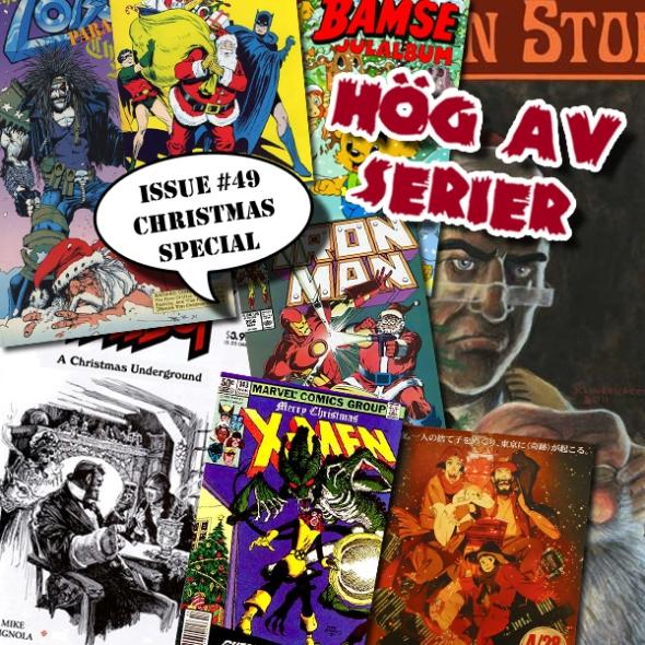 Illustration av Hög av serier - Ho, ho, hogavserier!