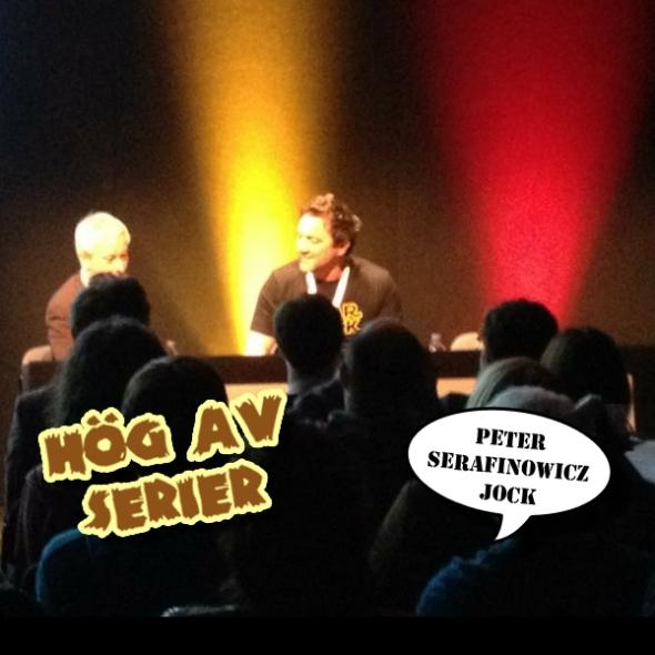 Kapow! 2012 - Peter Serafinowicz och Jock
