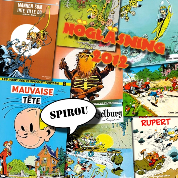 Illustration av Högläsning - Spirou