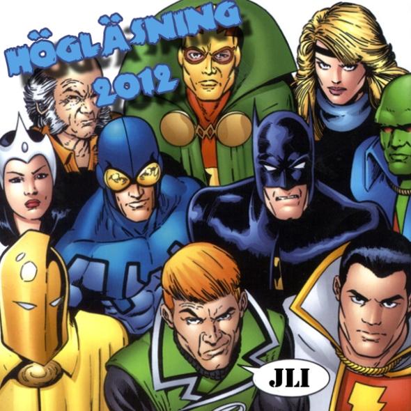 Illustration av Högläsning - Justice League International