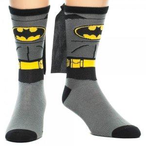 Varm och snygg med Bat-strumpor kompletta med mantlar!