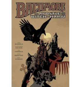 Nästa samling med Baltimore innehåller bland annat Bergtings första bidrag till serien och kommer i mars 2015.