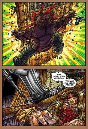 Juan Jose Ryp tecknade slafsiga Robo-serier för Avatar.