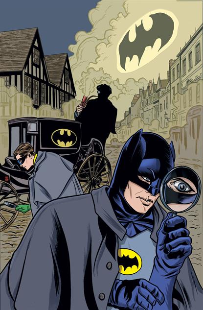Batman '66 #19, Mike Allred