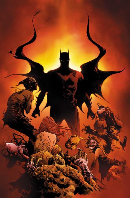 Batman Eternal #52, Jae Lee