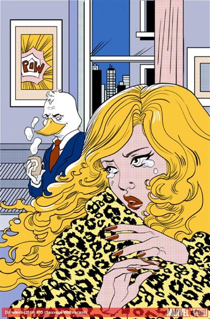 Daredevil #15 Variant, Marguerite Sauvage
