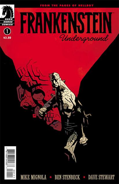 Frankenstein Underground #1, Mike Mignola