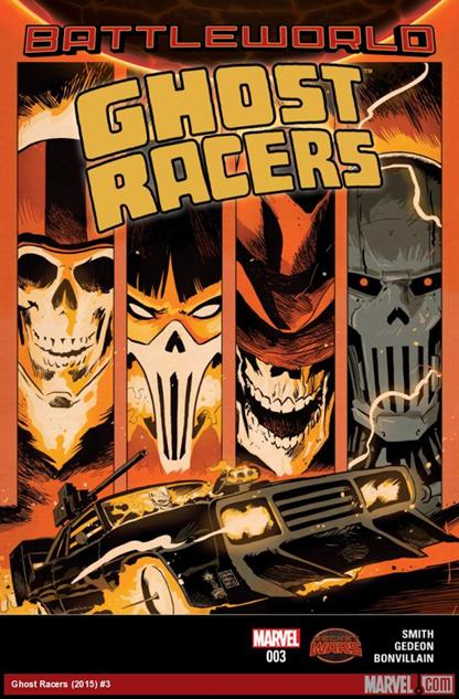 Ghost Racers #3 Francesco Francavilla