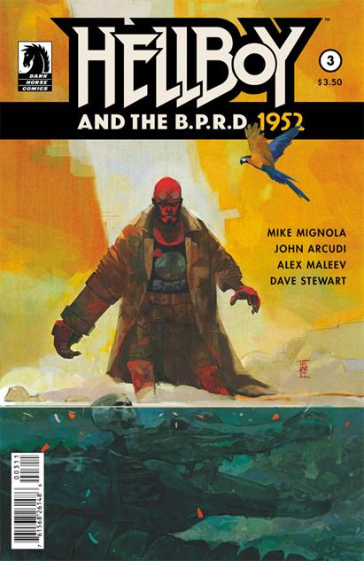 Hellboy and the B.P.R.D. 1952 #3, Alex Maleev