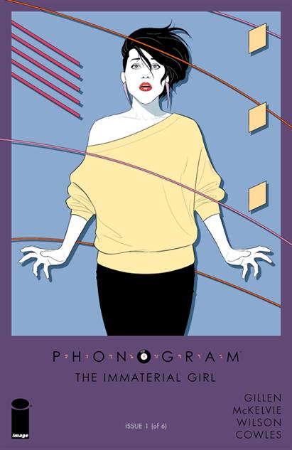 Phonogram: The Immaterial Girl #1 Jamie McKelvie