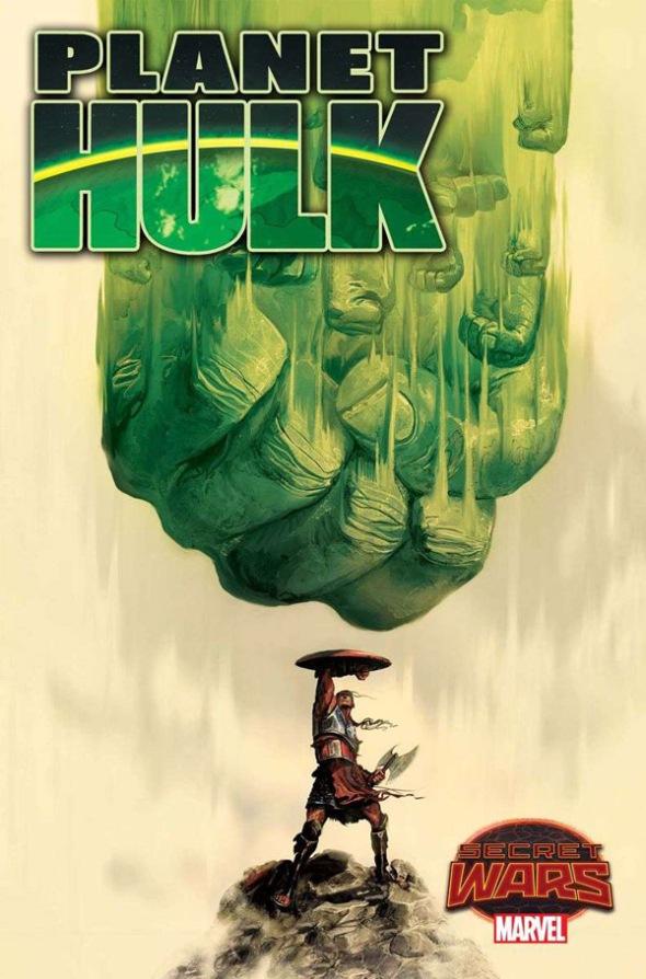Planet Hulk #1, Mike Del Mundo