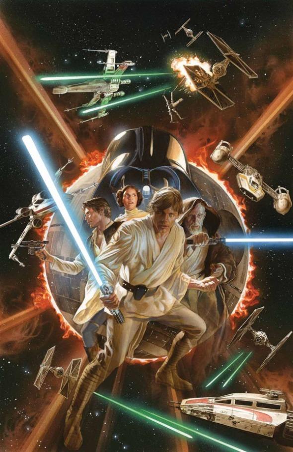 Star Wars #1 Variant, Alex Ross