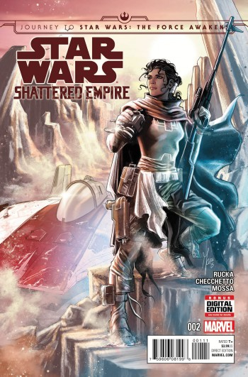 Star Wars: Shattered Empire #2, Marco Checchetto