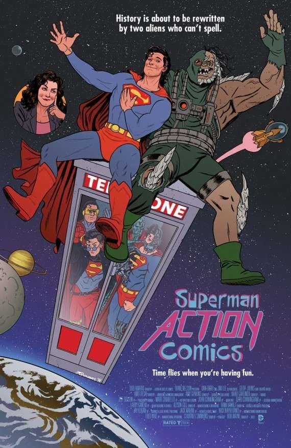 Action Comics #40 Movie Variant,  Joe Quinones