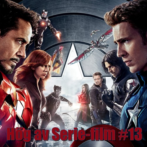 Hög av Serie-Film #13 - Captain America: Civil War