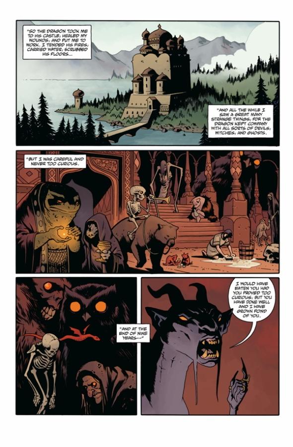 Hellboy Koshchei interior monsters